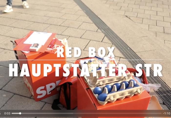 RedBox für Hauptstätter