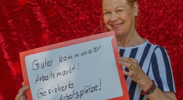 Wahlkampf- und Feierlaune: 1. Mai im Waldheim Heslach