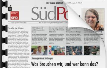 Bald im Briefkasten: die neue SüdPol-Stadtteilzeitung