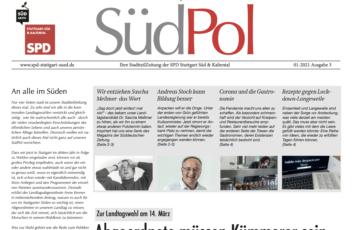 Bald wieder im Briefkasten: die neue SüdPol-Stadtteilzeitung