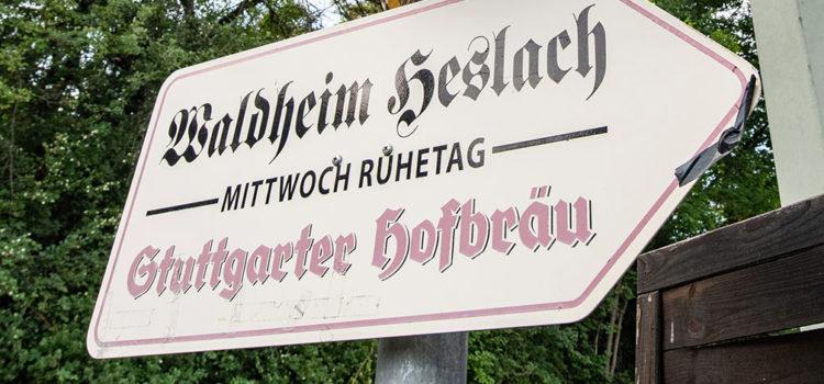 Stammtisch im Heslacher Waldheim