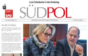 Ab sofort wieder im Briefkasten: die neue SüdPol-Stadtteilzeitung